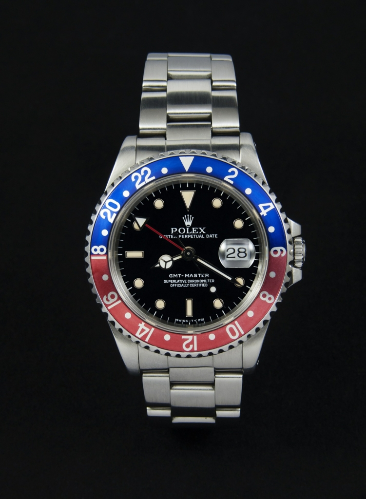 A classic 'Pepsi' GMT Master II