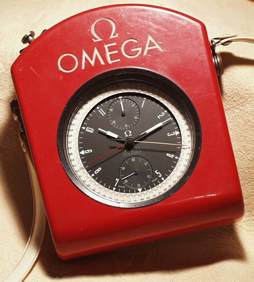Omega Olympic is a very sophisticated chronograph Credit: Chuck Maddox