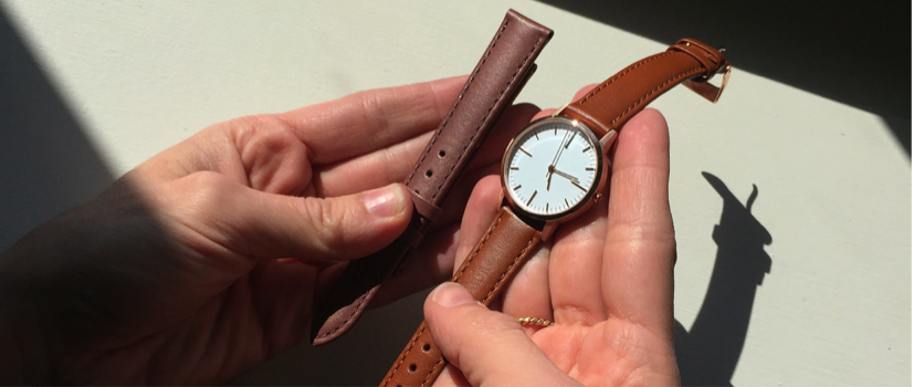 Extra care was taken on the sizing and colour of the strap