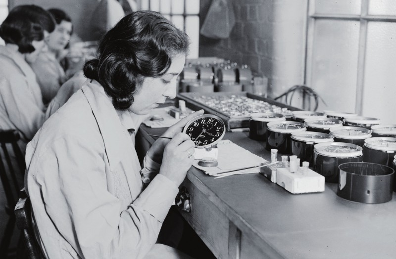 More than 50 women died as a direct result of radium paint poisoning by 1927